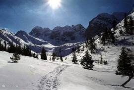 Hohentauern also offers opportunities for ski touring