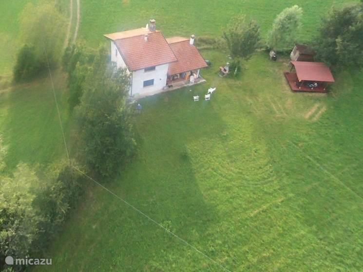 Casa Almadis vanuit de lucht
