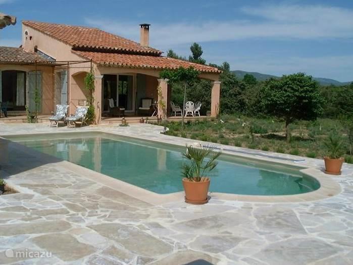 Vacation rental France, Provence – villa Les Lilas d' été bij Lac St Croix/Gorges du Verdon
