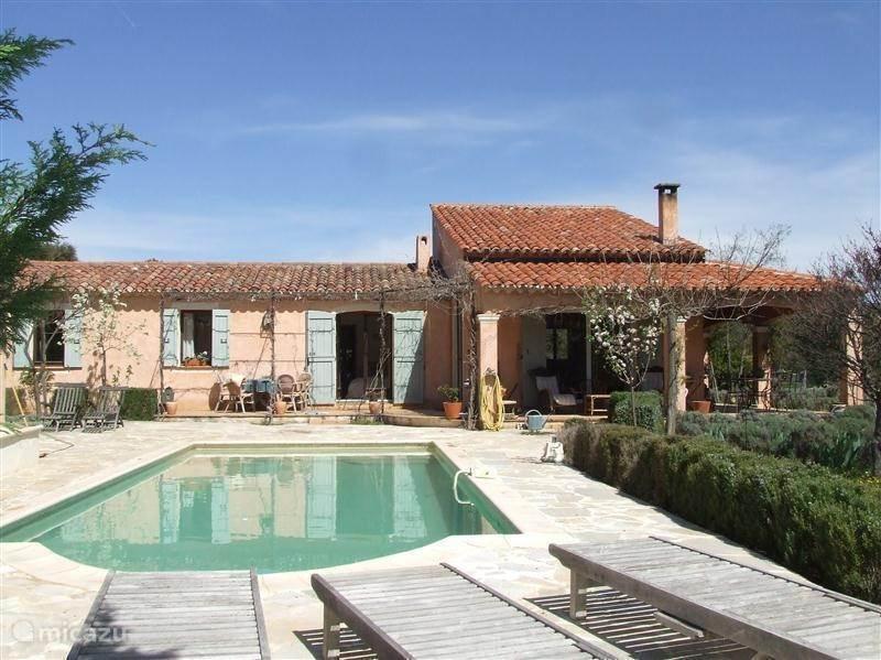 Vacation rental France, Provence, Régusse Villa Les Lilas d' été bij Lac St Croix/Gorges du Verdon