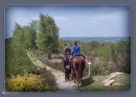Ook kan men hier prachtige wandelingen maken, te voet of te paard, dit laatste in overleg met een Centre Equestre.