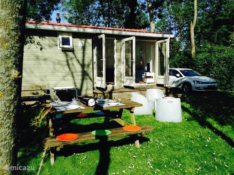 Ferienwohnung Niederlande, Friesland, Tzummarum - ferienhaus Chalet in Friesland