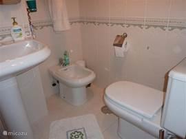 Badkamer 1 met bad etc.