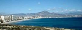 Kustlijn Playa San Juan op 8 min.
