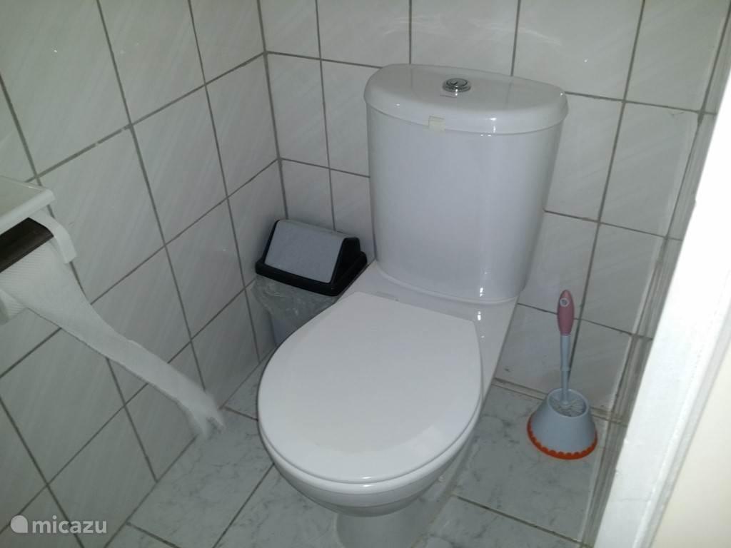 Een tweede gasten toilet.