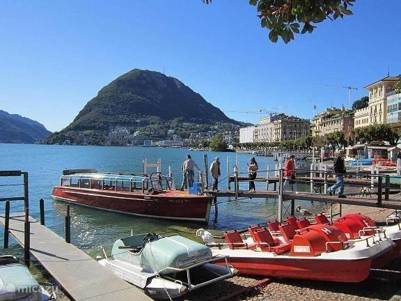 Vakantiehuis Italië, Italiaanse Meren, Porlezza - chalet  Porlezza meer van Lugano