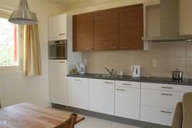 De keuken van appartement 2