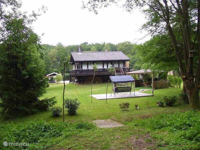 Achterkant/tuin Huis