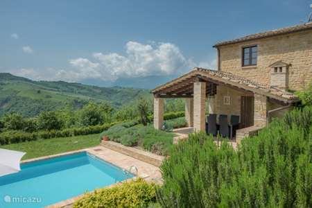 Vakantiehuis Italië, Marche, Penna san Giovanni - villa Casa Filo