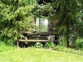 Het is erg groen, dus ook voor natuurliefhebbers het ideale vakantiehuis.
