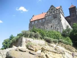 Uitstapjes naar steden als Quedlinburg of Wernigerode zijn erg aan te bevelen.