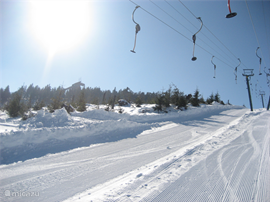 Skien op de Wurmberg.