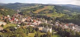 Een mooie impressie van het stadje Vrchlabi: de poort naar het Reuzengebergte