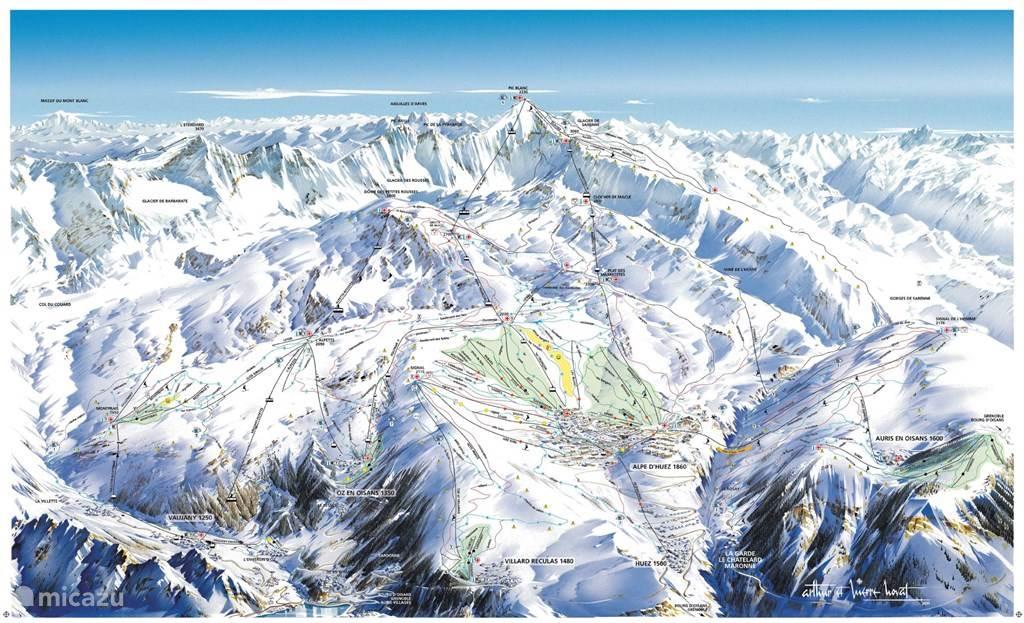 Alpe d'Huez grand domain de ski