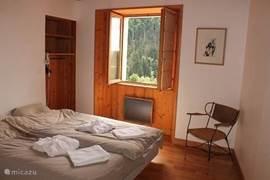apartement Cascade, slaapkamer