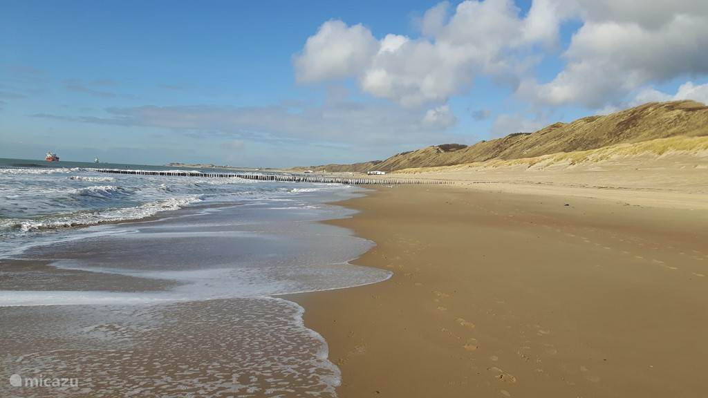 Het strand!
