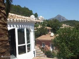 Uitzicht op El Montgo.