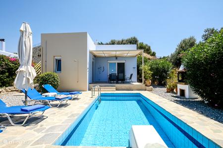 Vakantiehuis Griekenland, Kreta, Loutra villa Villa Lemoni met eigen zwembad