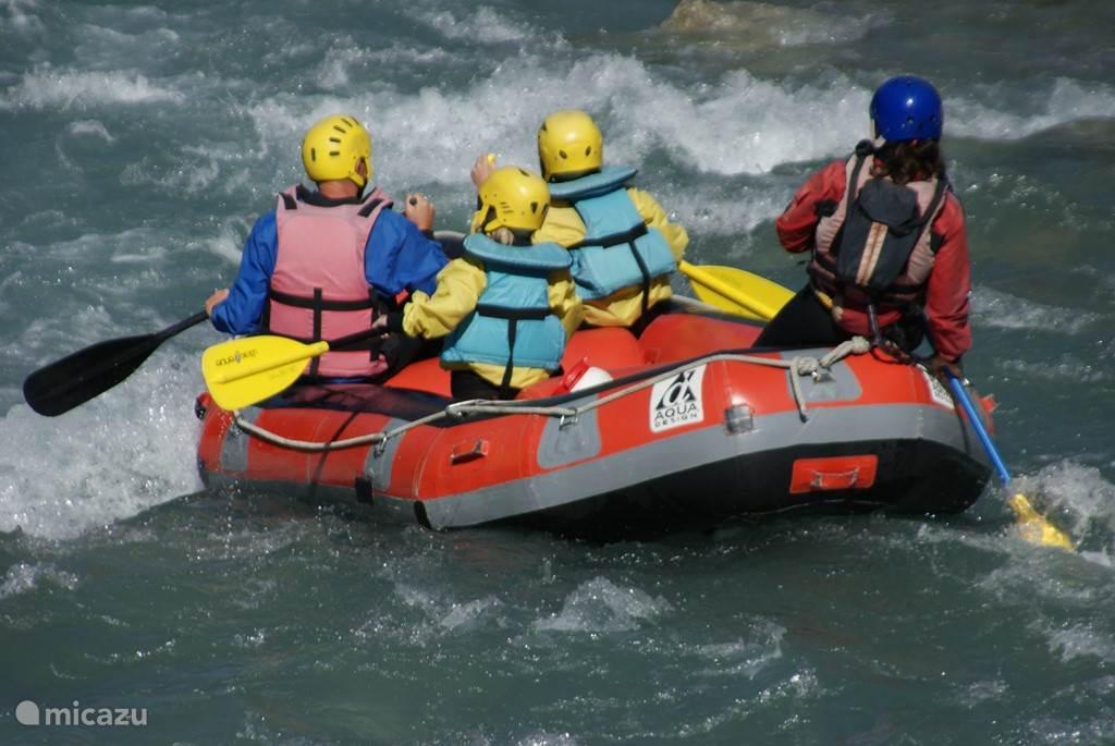 Rafting near St.Firmin