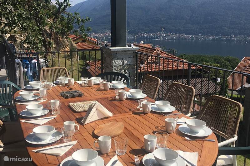 Vakantiehuis Italië, Italiaanse Meren, Brolo di Nonio Villa La Connessione