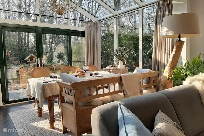 Vakantiehuis Nederland, Drenthe, Zorgvlied Vakantiehuis Ananda Valley