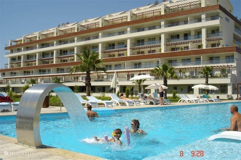 Vakantiehuis Turkije, Turkse Rivièra, Side Appartement Babylon Beach *****