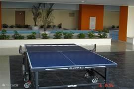 Liefhebbers van sport en spel kunnen zich vermaken met (tafel)tennis, fitness, binnen- en buitenzwembad en sauna. Deze faciliteiten staan u kosteloos ter beschikking.
