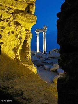 De 'tempel van Apollo', Side (4km)