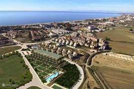 Op 650 meter van het zandstrand ligt Babylon in het hart van de populaire toeristenplaats Kumkoy (Side).