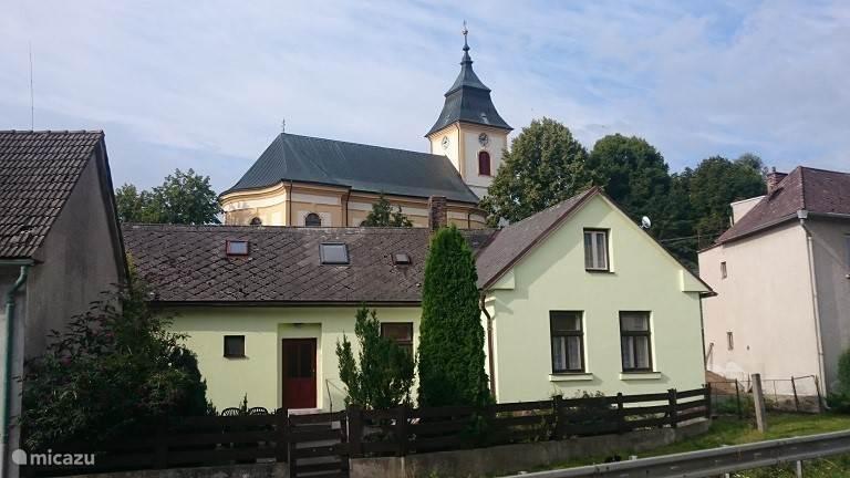 Vacation rental Czech Republic, Vysocina, Luka nad Jihlavou - holiday house Vakantiehuis Luka