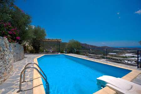 Vacation rental Greece – villa Spitimas Mithi (nabij Myrtos)