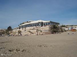 Restaurant La Mirador bij het strand van La Zenia