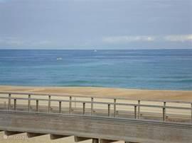 uitzicht vanaf uw balkon op de Oceaan