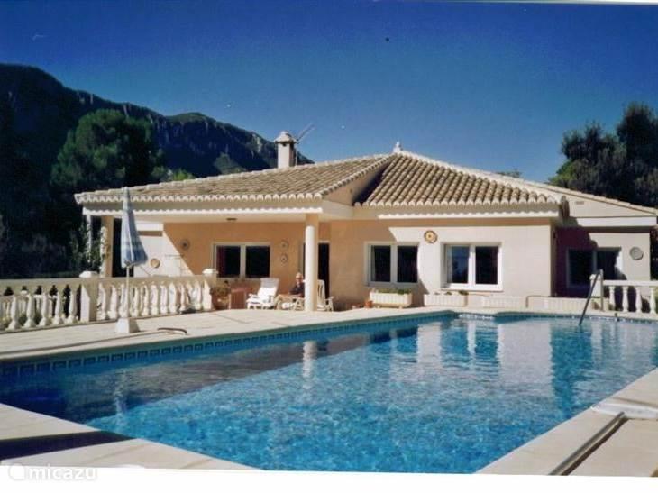 Vakantiehuis Spanje, Costa Blanca, Barx villa Villa Drova