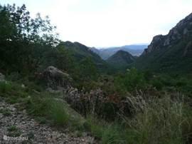 300 meter lopen vanaf villa Drova en u hebt dit uitzicht.