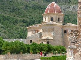5 km von dem Dorf  Barx in Simat diese alte Kloster. Man tut die Restaurierung. Die spanische Königin ist Schirmherrin dieses Monuments, wo jedes Jahr im Juli klassische Konzerte statt finden.