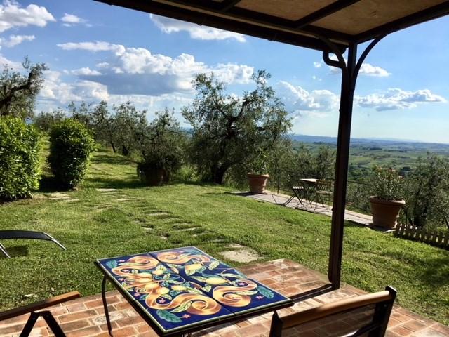 Nog plaats wegens annulering! Heerlijk huisje in centraal Toscane, overal dichtbij. Rust, zon, cultuur. Lees onze recenties en boek snel !