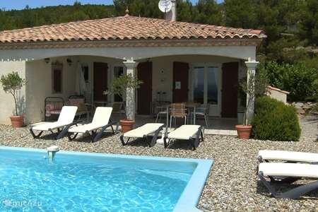 Vakantiehuis Frankrijk, Hérault – villa Le Chat Rouge met 5** Comfort