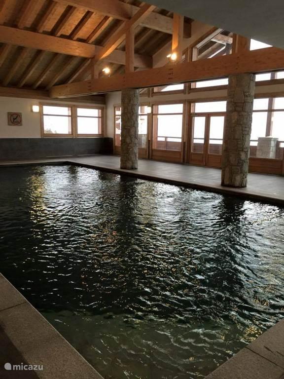 Ons heerlijke zwembad.