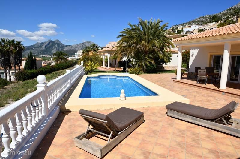 Vakantiehuis Spanje, Costa Blanca, Sanet Y Negrals Villa Pracht object bij Denia: rust/ruimte