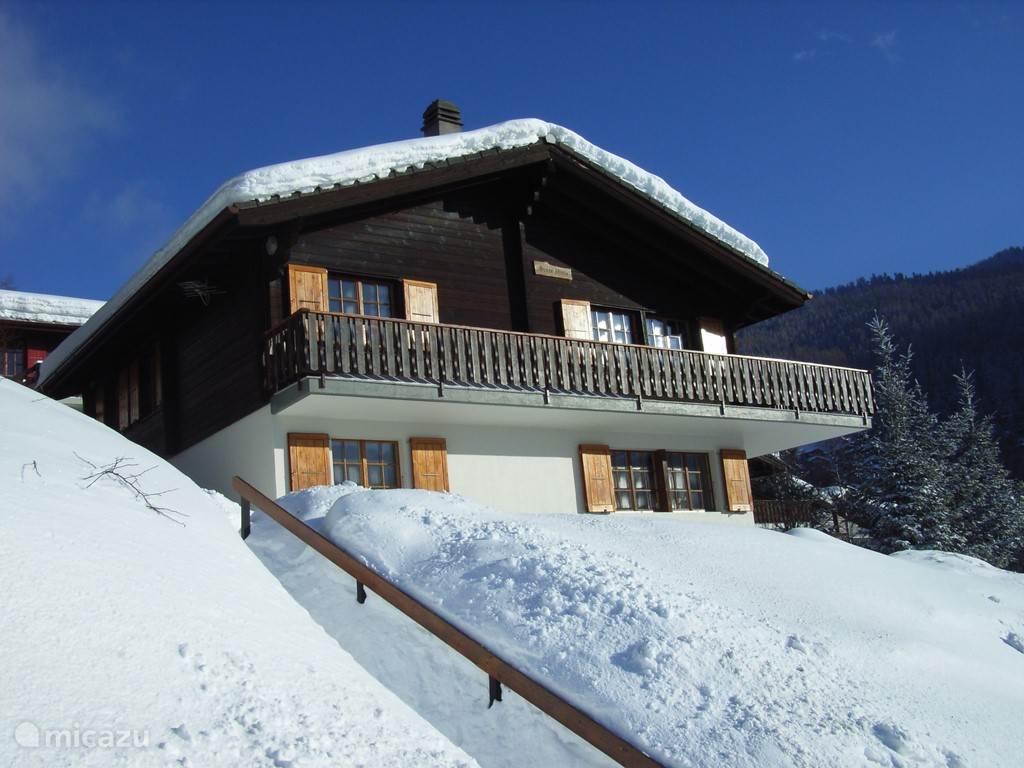 Vakantiehuis Zwitserland, Wallis, Burchen Chalet Chalet Stille Wille