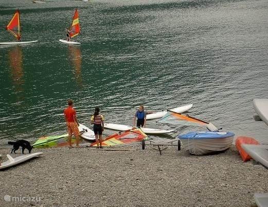 Surfplank huren? Camping Rio Vantone.