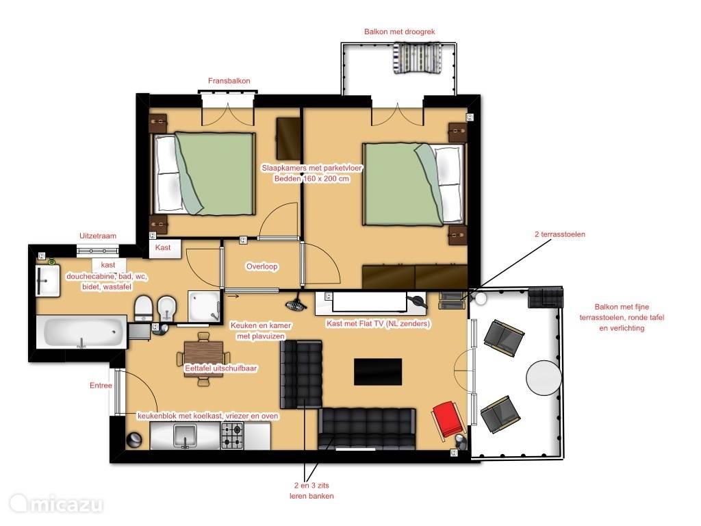 Vakantiehuis Italië, Italiaanse Meren, Idro Appartement Appartement Casa Lago d'Idro
