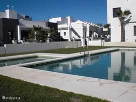Het gemeenschappelijk zwembad waar u gratis gebruik van maakt