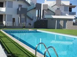Gemeenschappelijk zwembad gratis te gebruiken