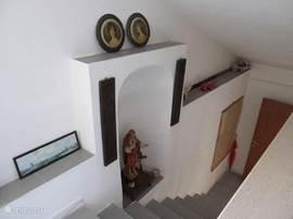 Dit is de trap naar boven.