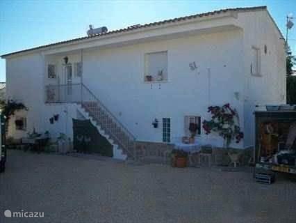 De ingang van Appartement Villa Verde