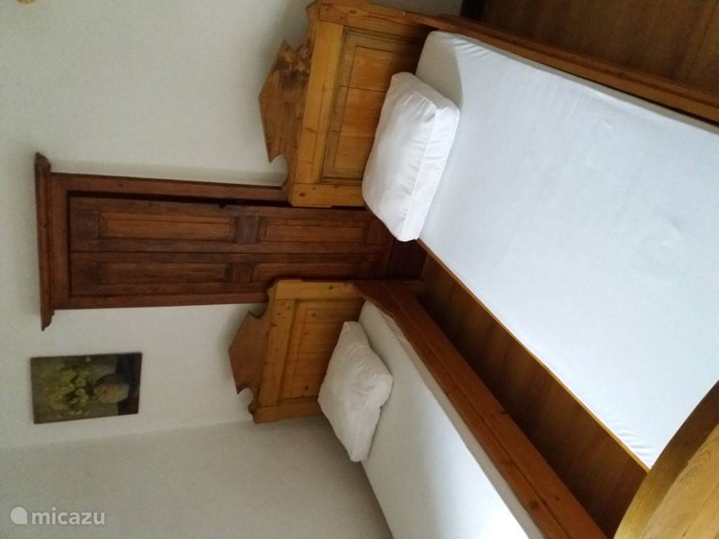 Slaapkamer aparte bedden