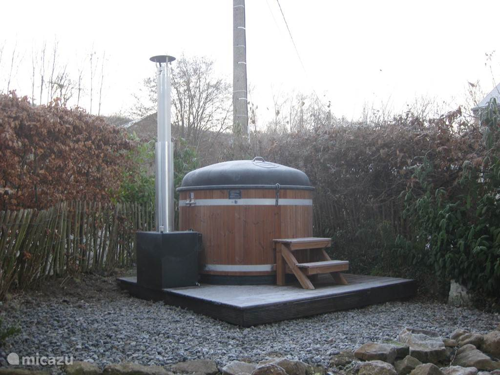 hot tub is available for free during your stay, you should only deal in wood consumption
