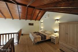 Spacious loft with 2 single beds and air conditioning also